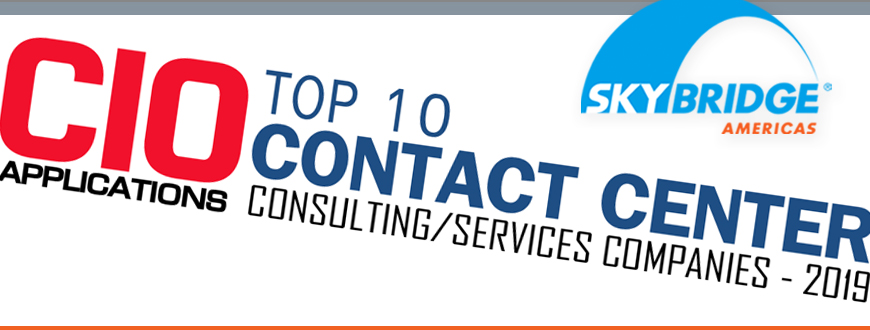 Skybridge Americas Recognized as a Top Ten Contact Center!