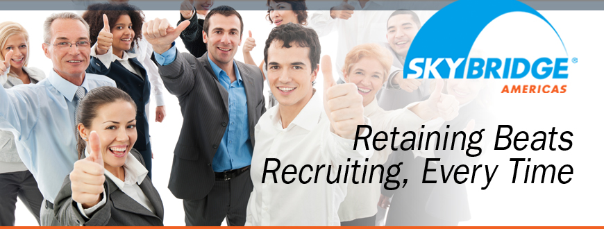 Retaining Beats Recruiting, Every Time