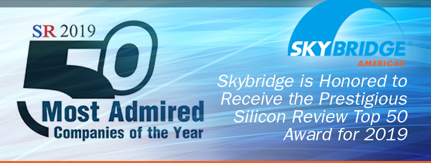 Skybridge Americas Named One of 2019's 50 Most Admired Companies